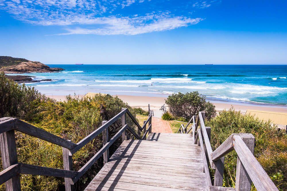 Central Coast beach