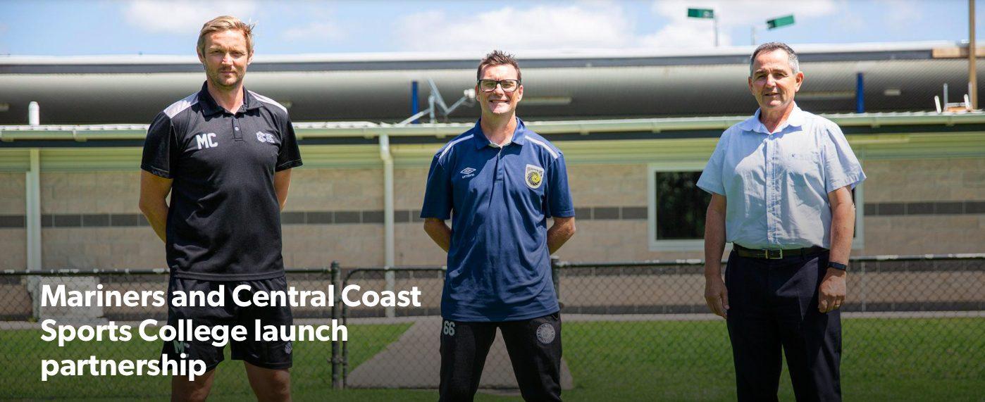 CCMFC w Central Coast Sports College