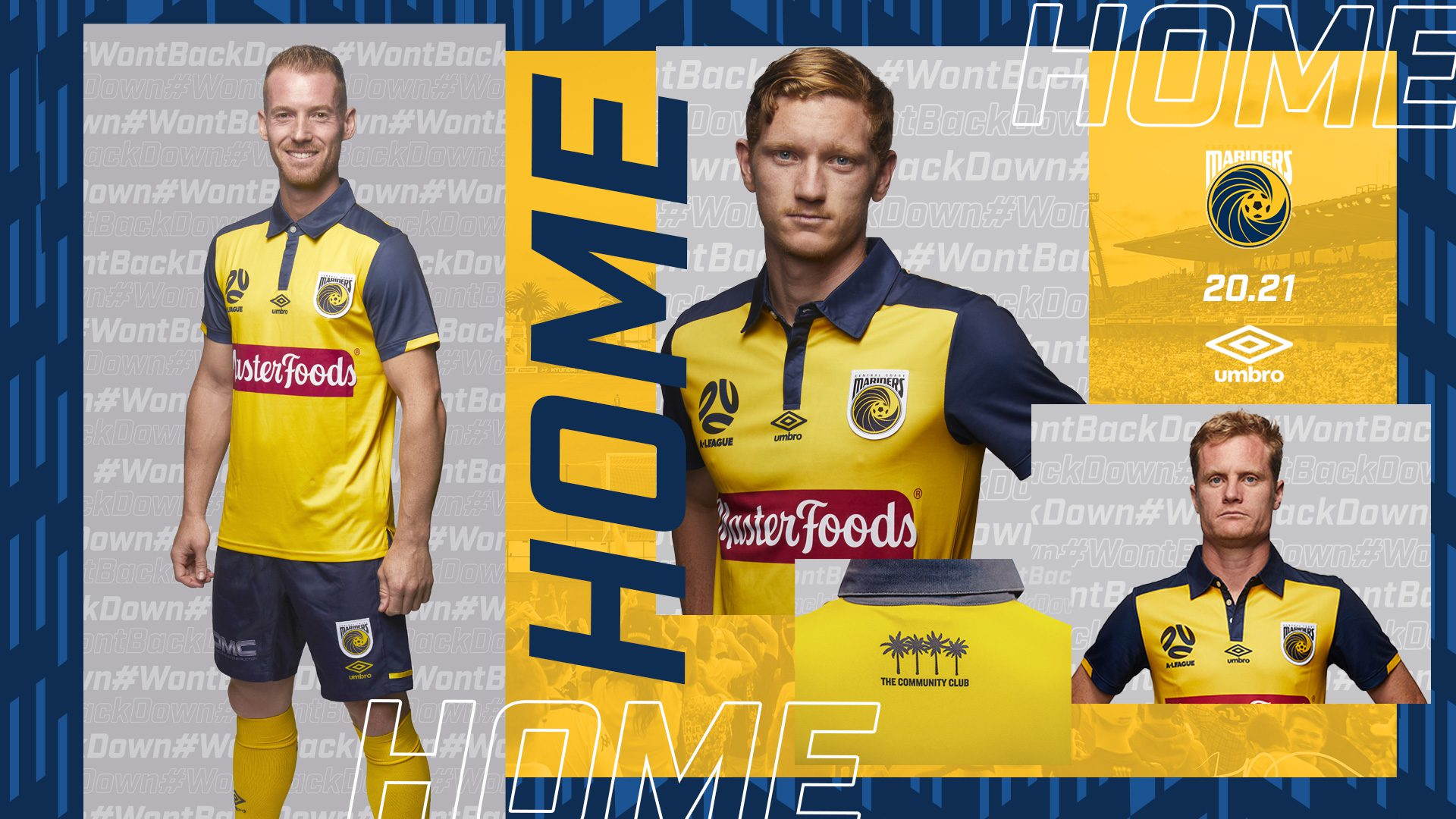 Central Coast Mariners 20-21 uniform