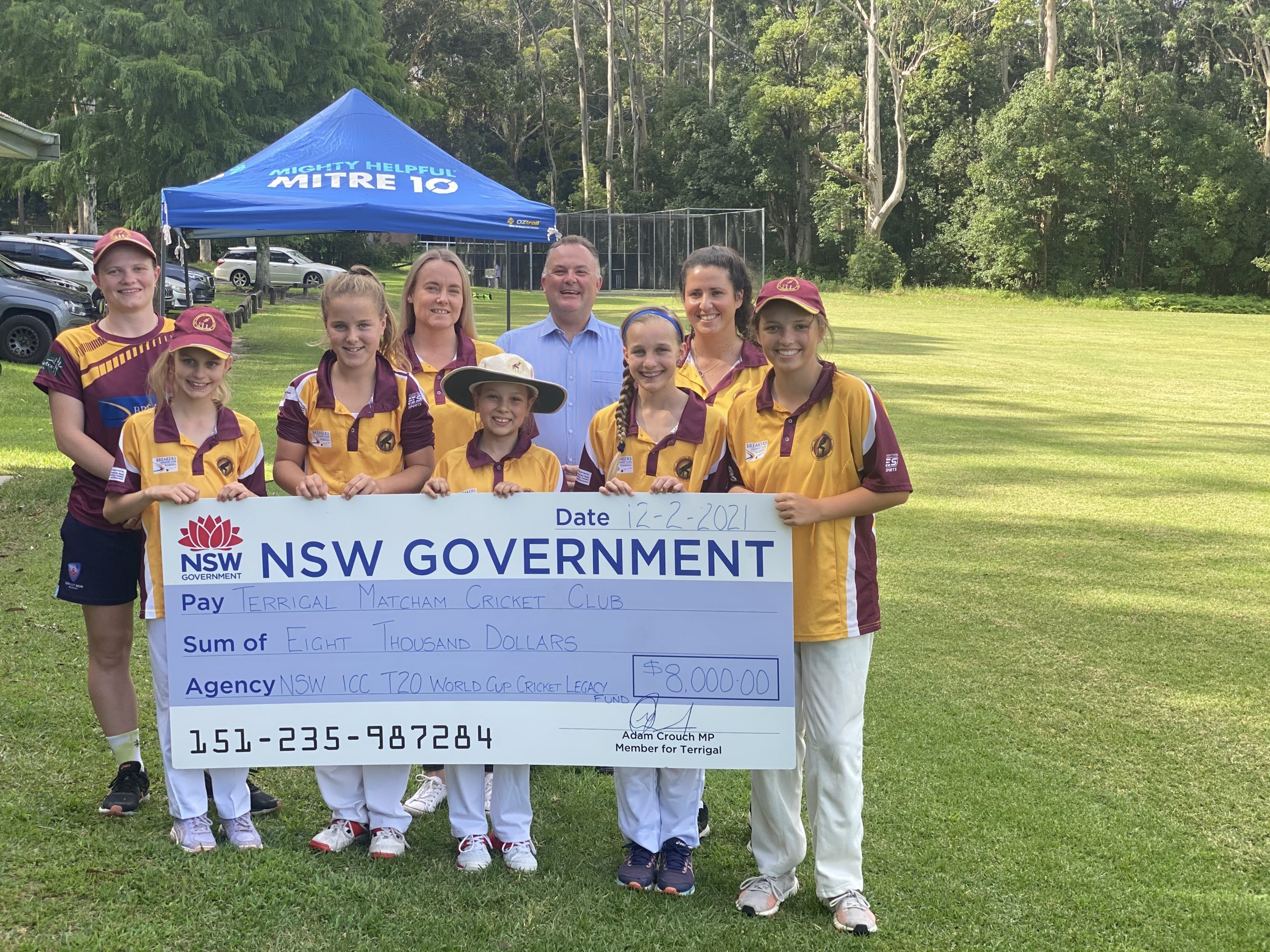 NEW FUNDING HITS RUNS FOR LOCAL CRICKET